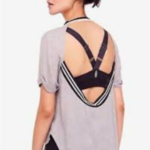 Free People FP Movement's open back T-shirt